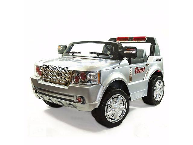 купить бу Детский электромобиль Land Power 205: 2 места, 9 км/ч Spray Paint Silver в Одессе