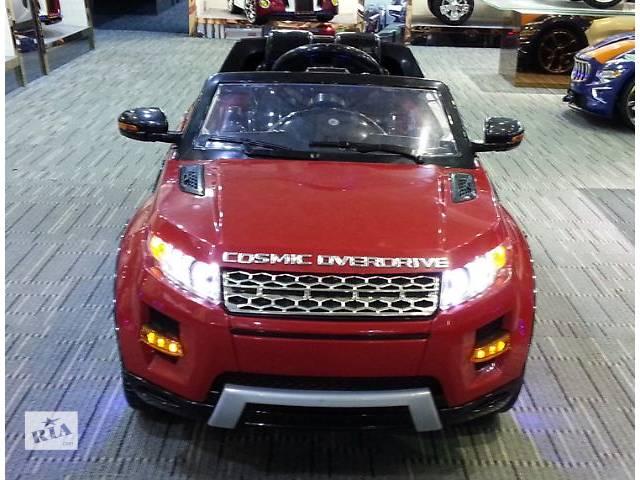 бу Детский электромобиль Land Rover M 2398 Красный в Львове