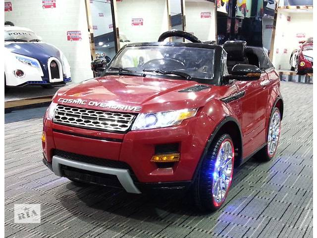 """купить бу Детский электромобиль Land Rover M 2398 Красный """"MP4"""" в Львове"""