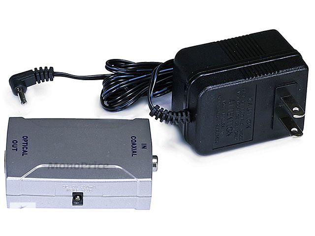 бу Digital Coaxial (RCA) в S/PDIF (Toslink) Digital Optical Audio конвертер в Киеве