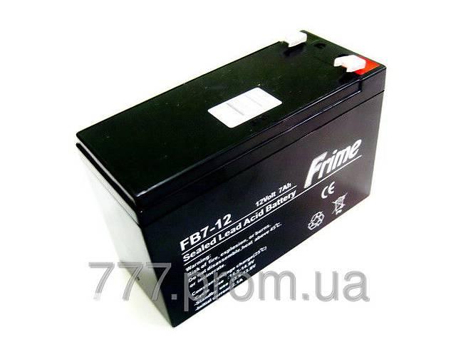 купить бу Для эхолотов аккумуляторная батарея  FRIME FB7-12AGM, АКБ 12В-7Ач для бесперебойного питания в Украине в Харькове
