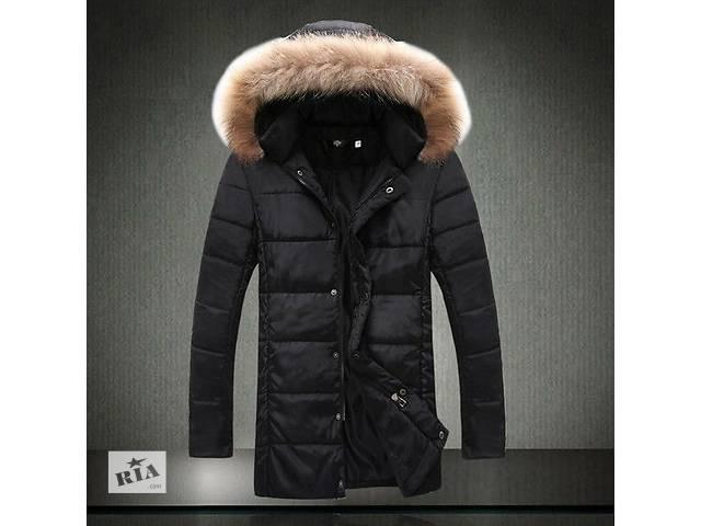 продам Длинная куртка черного цвета бу в Черкассах