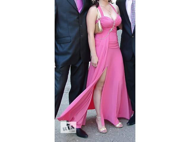 купить бу Длинное вечернее выпускное платье Seam в Харькове