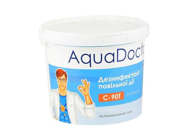 купить бу Длительный хлор таблетки 200 грамм для бассейна.AquaDoctor C90-T 5 кг.Бесплатная Доставка! в Днепре (Днепропетровск)