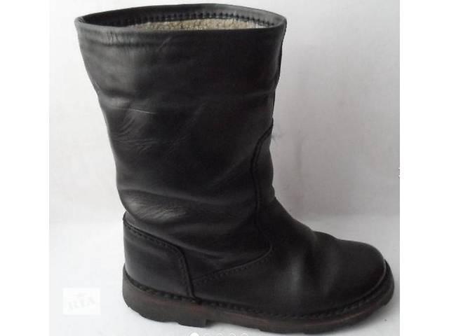 Добротные кожаные зимние сапоги.размер 37- объявление о продаже  в Калуше