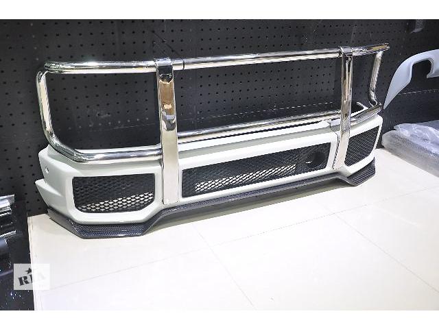 продам Докладка переднего бампера карбоновая Mercedes Benz G63 AMG (стиль Mansory) бу в Луцке