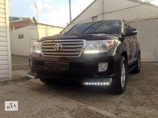 """продам Докладка переднего бампера Toyota Land Cruiser 200 """"Platinum Edition"""" бу в Луцке"""
