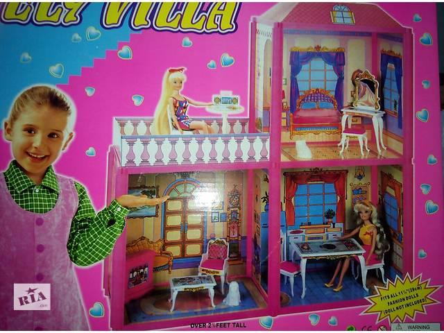 бу Дом для куклы (кукол) Барби 2 этажа 3 комнаты.Кукольный дом 6984 в Одессе