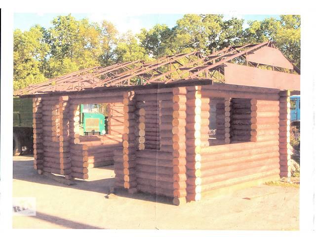 купить бу Дом из оцилиндрованных колод Ф 180 в Житомире