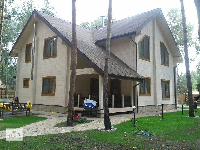 продам Деревянные дома из любого вида бруса  от производителя под ключ бу  в Украине