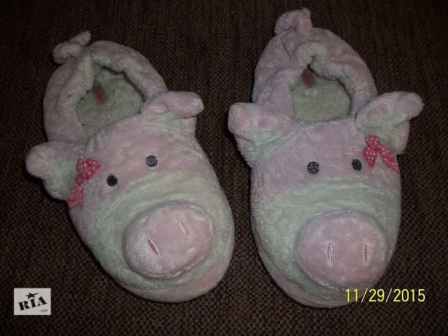 Домашние тапочки свинка- объявление о продаже  в Львове