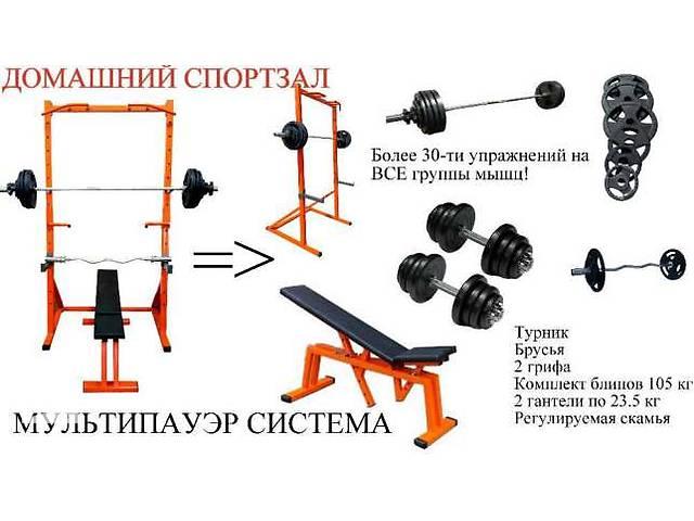 Домашний спортзал- объявление о продаже  в Днепре (Днепропетровске)