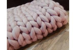 Новые Вязаные одеяла Декор Текстиль