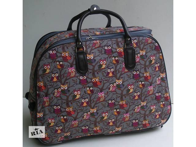 бу Дорожная сумка на колесах с выдвижной ручкой в Виноградове