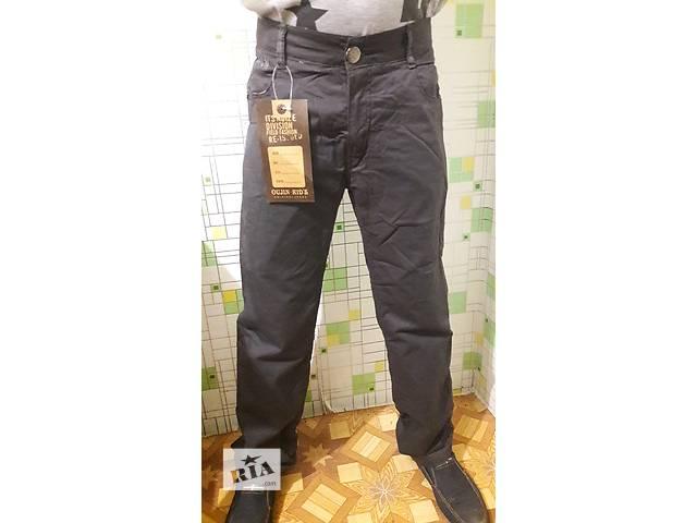 продам Утепленные коттоновые штаны для мальчика 140-146 см. бу в Днепре (Днепропетровск)