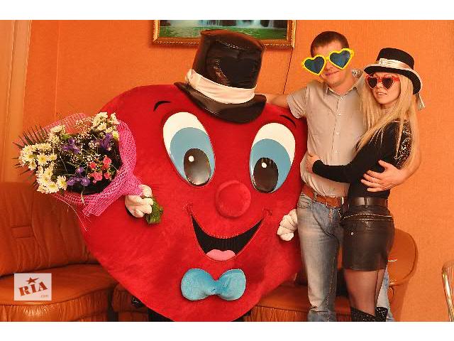 купить бу Доставка цветов, подарков, Сердце-курьер, ростовая кукла, Киев в Киеве
