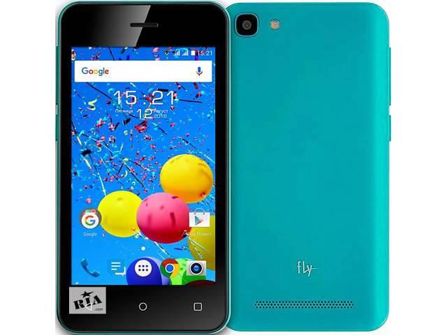 купить бу Доступный и технологичный смартфон Fly FS406 Stratus 5 имеет компактные габариты, современную ОС и небольшую цену.  в Тячеве