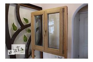 дубовые окна из евробруса