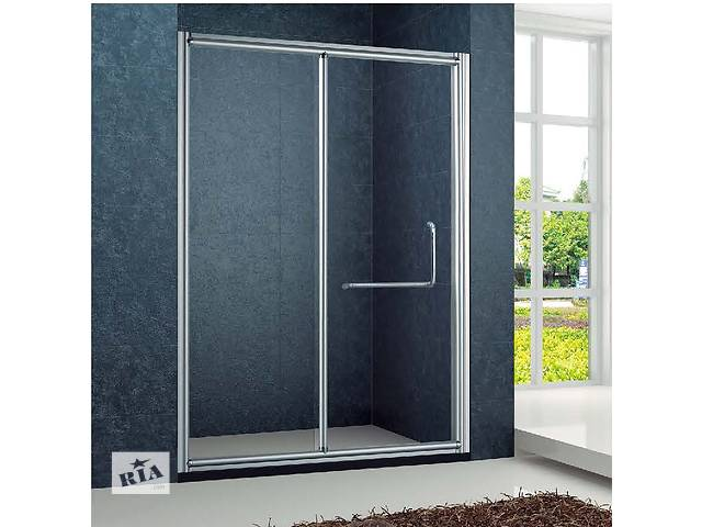 бу Душевая дверь Golston G-S8009 прозрачное стекло, 1200x1900 мм в Одессе