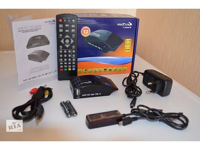 купить бу DVB-T2 Тюнер (ресивер) Т2 OpenFox T2 Mini IR HD в Краматорске