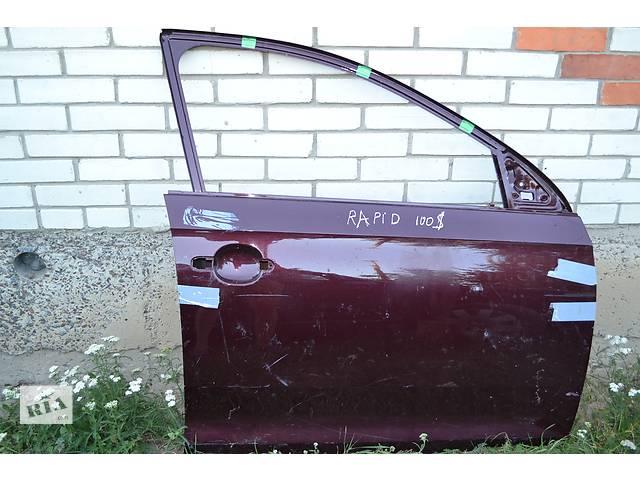 Дверь передняя для легкового авто Skoda Rapid- объявление о продаже  в Остроге