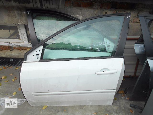 бу Дверь передняя левая для Renault Laguna III 2010 в Львове