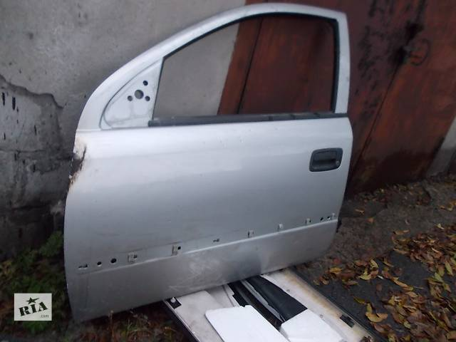 купить бу  Дверь передняя левая (водительская)  Opel Astra G. Б/у в хорошем состоянии, а также другие з/ч на A-G. в Днепре (Днепропетровске)