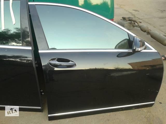 купить бу Дверь стекло замок дотяжка ручка молдинг Mercedes W221 в Запорожье