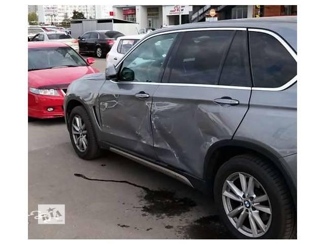бу Дверь з.л. для BMW X5 F15, после аварии в Киеве