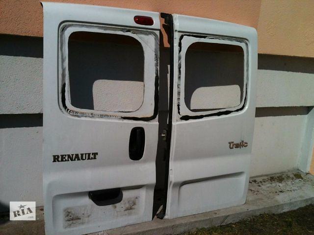 бу Дверь задняя для легкового авто Renault Trafic 2002-15 в Луцке