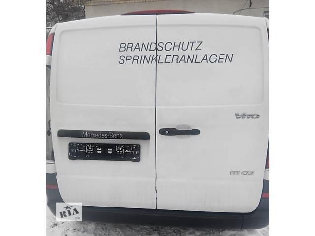 бу Дверь задняя, двері задні Mercedes Vito (Viano) Мерседес Вито (Виано) V639 (109, 111, 115, 120) в Ровно