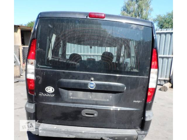 купить бу Дверь задняя (Ляда Кляпа) для Фиат Добло Fiat Doblо 1.9 Jtd 2000-2009 в Ровно