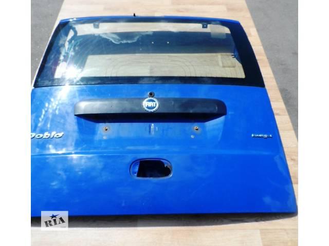 бу Дверь задняя (Ляда,Кляпа) Фиат Добло Fiat Doblo 2000-2009 (Синяя) в Ровно