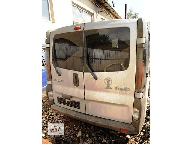 продам Дверь задняя низкая высокая, двері задні Renault Trafic 1.9, 2.0, 2.5 Рено Трафик (Vivaro, Виваро) 2001-2009 бу в Ровно