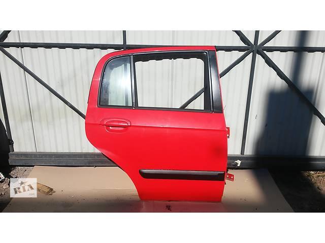 купить бу Дверь задняя правая для легкового авто Hyundai Getz (голые) в Тернополе