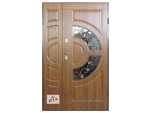 продам Двери входные стеклопакетом бу в Львове