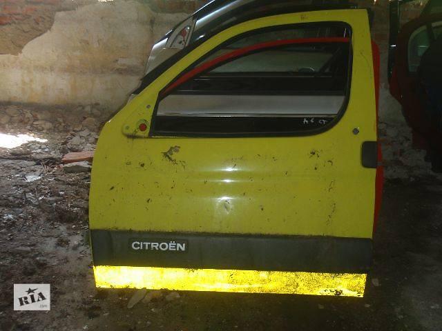 купить бу Двері передні ліві для Citroen Berlingo 1997р. в Львове