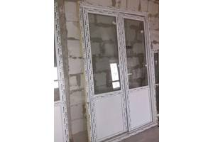 б/у Металлопластиковые двери WDS