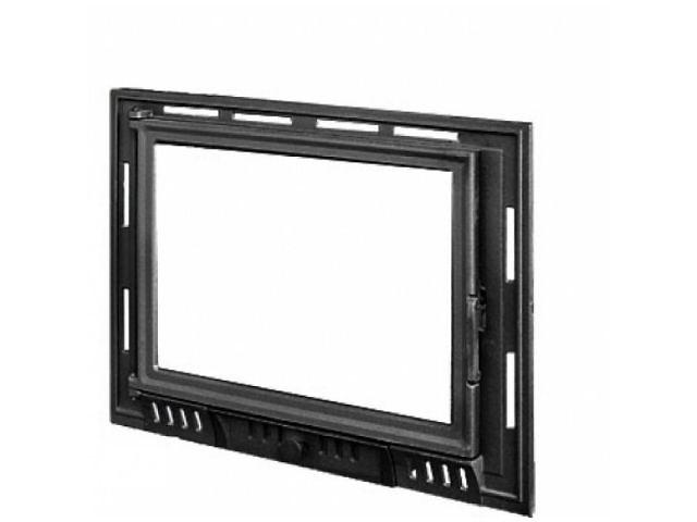 бу Дверцы для камина Kaw-Met W9 490x680 мм в Дрогобыче