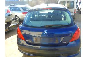 б/у Крышка багажника Peugeot 207