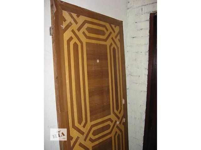 бу Двери деревянные входные   в Краматорске