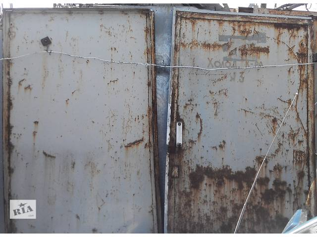 Двери металлические утепленные б/у- объявление о продаже  в Павлограде