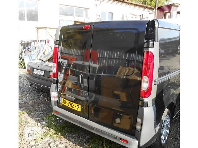 купить бу Двери задние правые, левые двери задние Nissan Primastar Ниссан Примастар, Opel Vivaro Опель Виваро Renault Trafic Рено в Ровно