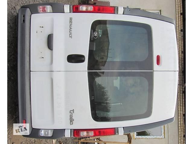 купить бу Двери задние высокие парус двері задні високі парус Nissan Primastar Ниссан Примастар Opel Vivaro Опель Виваро Renault в Ровно