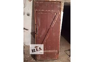 б/у Дерев'яні двері