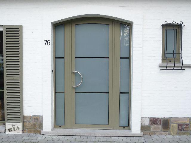 купить бу Двери алюминиевые арочные в Киеве