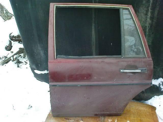 продам Двери/багажник и компоненты Дверь задняя Volkswagen Passat B2  бу в Никополе