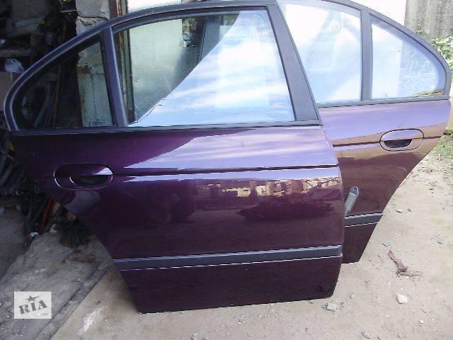 Двери задние БМB 5 BMW Е39 седан.- объявление о продаже  в Киеве