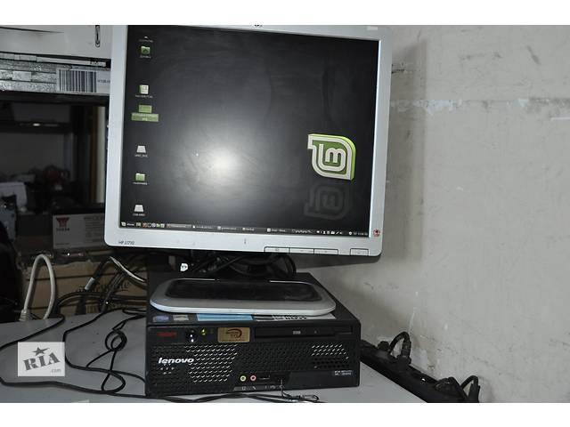 Двухъядерный пк с монитором клавой и мышкой- объявление о продаже  в Львове