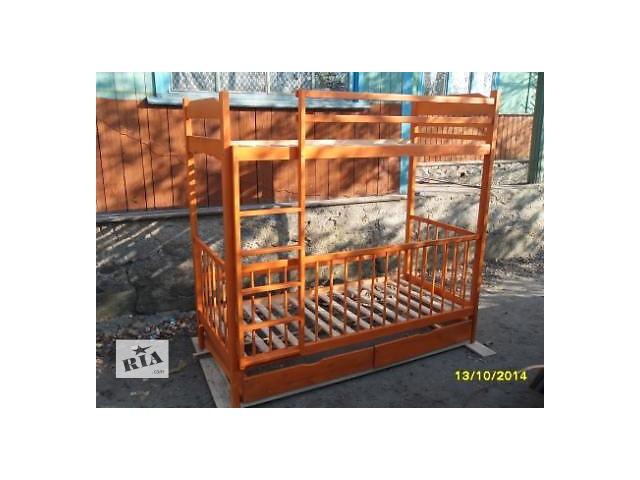 продам Двухэтажная кровать с детским ограждением. бу в Киеве